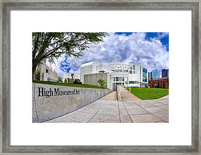 Atlanta's High Museum Framed Print