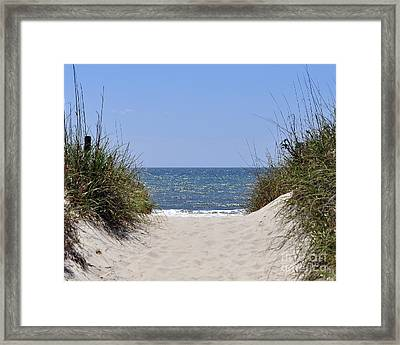 Atlantic Access Framed Print