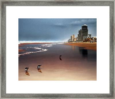 Atlantic Beach Framed Print