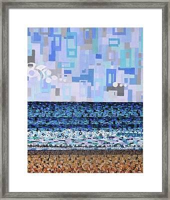 Atlantic Beach Framed Print by Micah Mullen