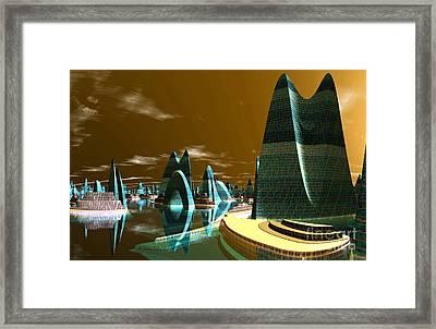 Atlantic City Framed Print by Heinz G Mielke