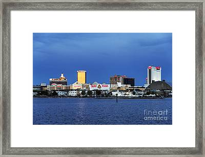Atlantic City Framed Print by John Greim