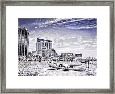 Atlantic City Framed Print