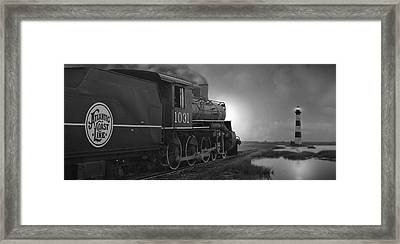 Atlantic Coast Line Panoramic Framed Print by Mike McGlothlen