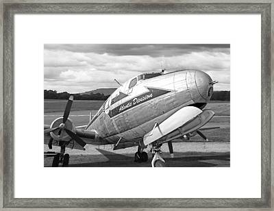Atlantic Division Black And White Framed Print by Gill Billington