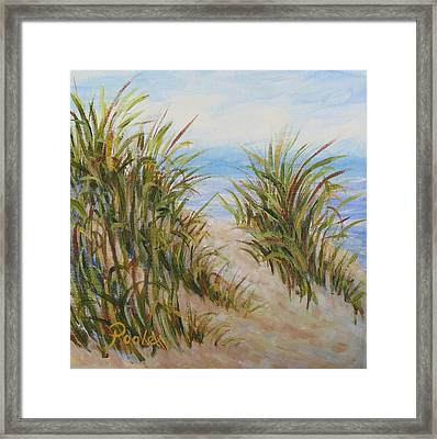 Atlantic Dunes Framed Print