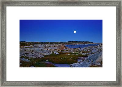 Atlantic Moon  Framed Print