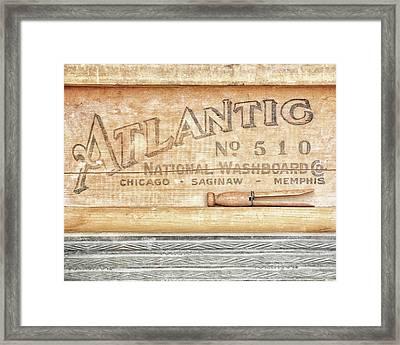 Atlantic No. 510 Framed Print by Alison Sherrow I AgedPage