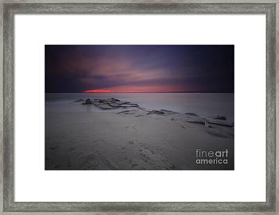 Atlantic Pulse Framed Print by Marco Crupi