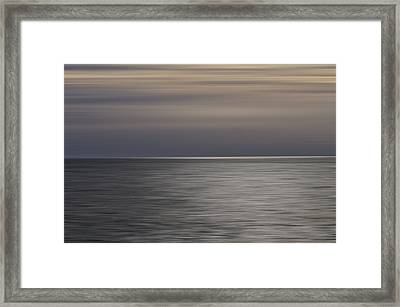 Framed Print featuring the photograph Atlantic Sunrise  by Kevin Blackburn