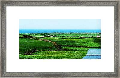 Atlantic View Doolin Ireland Framed Print