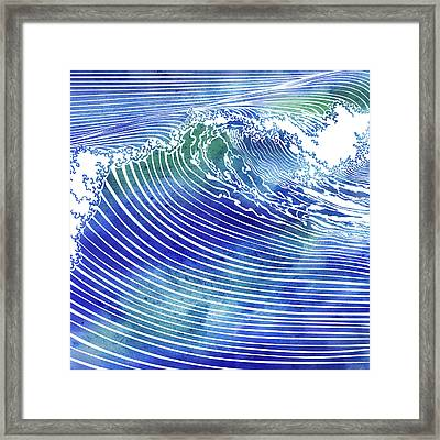 Atlantic Waves Framed Print