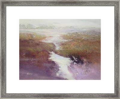 Atlanticsaltmarsh Framed Print