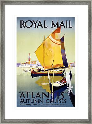 Atlantis Autumn Cruises Framed Print by David Wagner