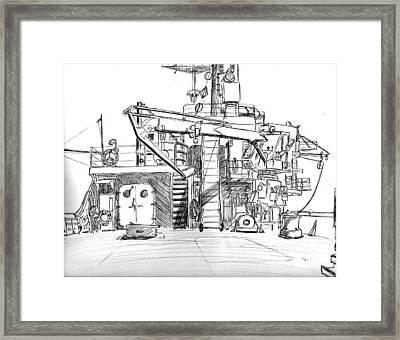 Atlantis II Fantail Framed Print