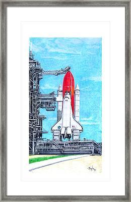 Atlantis Framed Print by Murphy Elliott