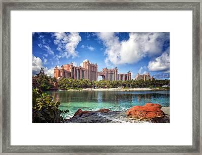 Atlantis Resort - Paradise Island -  - Bahamas Framed Print