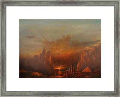 Atlantis Framed Print by Tom Shropshire