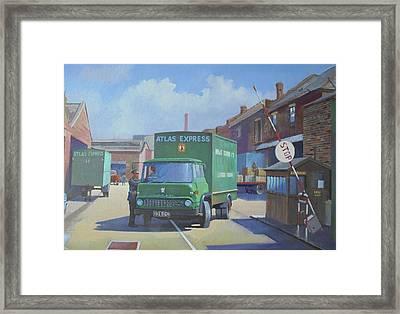 Atlas Express Bedford. Framed Print