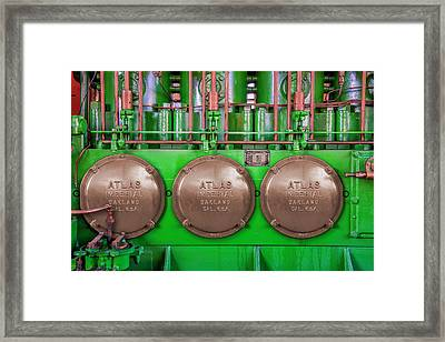 Framed Print featuring the photograph Atlas Imperial by Paul Wear