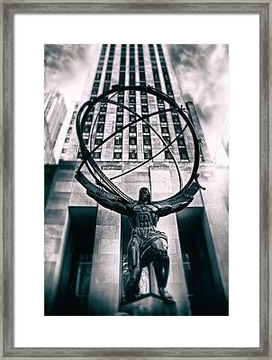 Atlas Framed Print by Jessica Jenney