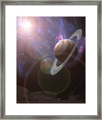 Atlas Framed Print