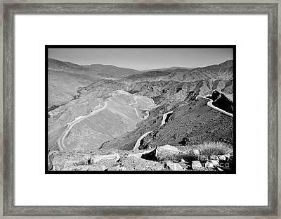 Atlas Mountain  Framed Print by Floyd Menezes