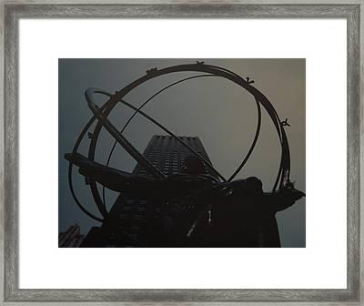 Atlas Framed Print by Rob Hans