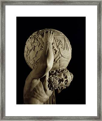 Atlas Framed Print by Roman School