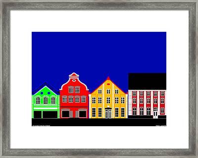 Atmosphere Haderslev Denmark Framed Print by Asbjorn Lonvig