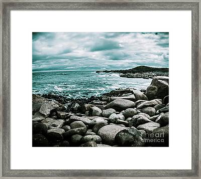 Atmosphere In A Looming Sea Storm Framed Print by Jorgo Photography - Wall Art Gallery