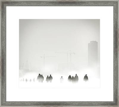 Atmosphere Framed Print by Piet Flour