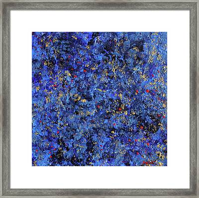 Atmospheric Blue 201750 Framed Print by Alyse Radenovic