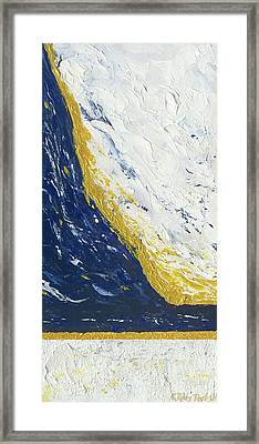 Atmospheric Conditions, Panel 3 Of 3 Framed Print