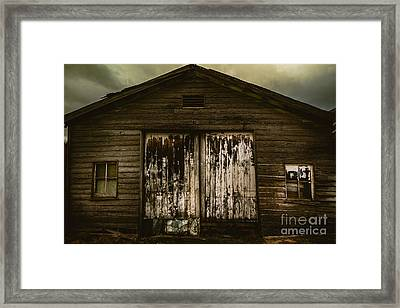 Atmospheric Farm Scenes Framed Print