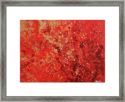 Atmospheric Red 201749 Framed Print by Alyse Radenovic