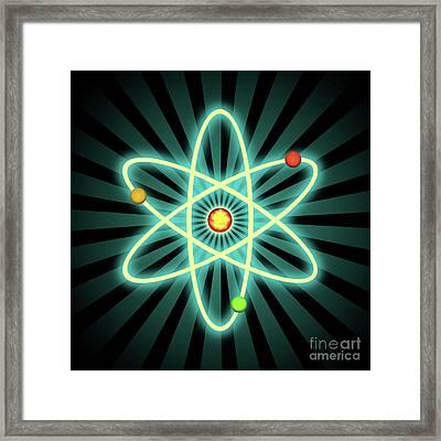 Atom Framed Print