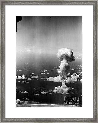 Atomic Bomb Test, 1946 Framed Print