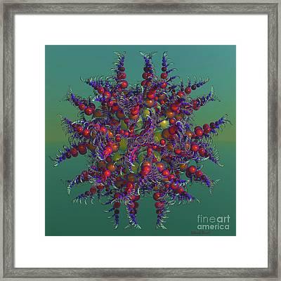 Atomic Design Framed Print by Deborah Benoit
