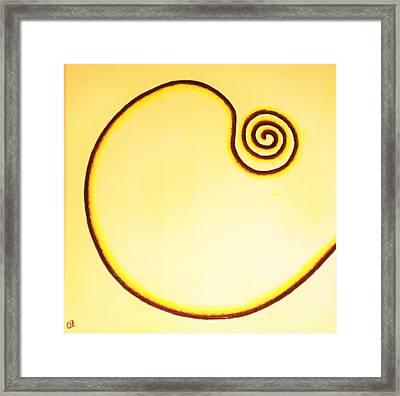 Atomic Movement Framed Print by Olga Zavgorodnya
