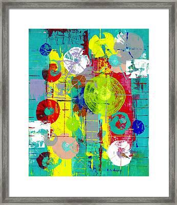 Atomic Orbital Framed Print