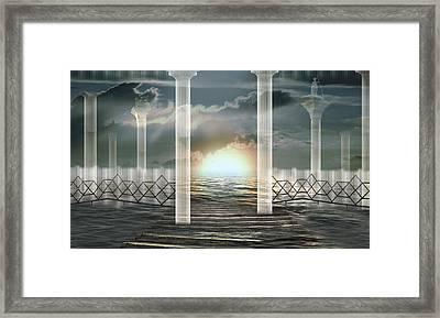 Atomic Rise Framed Print