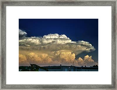 Atomic Supercell Framed Print