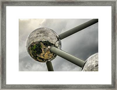 Atomium 2 Framed Print by Pablo Lopez