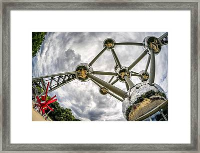Atomium 3 Framed Print by Pablo Lopez