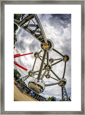 Atomium 4 Framed Print by Pablo Lopez