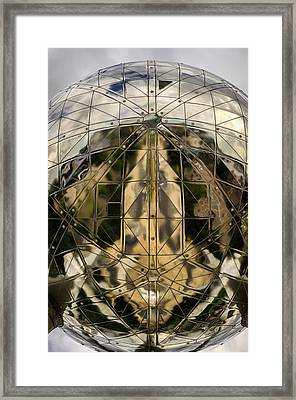 Atomium 5 Framed Print by Pablo Lopez