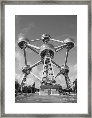 Atomium Framed Print by Juli Scalzi