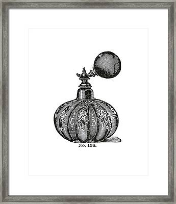 Framed Print featuring the digital art Atomizer by ReInVintaged