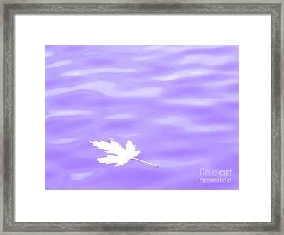 Harmony Framed Print by Sybil Staples